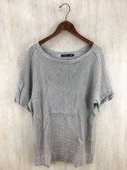 LEWIN/リネンコットンニット/Tシャツ/2/リネン/IVO/クラシカ