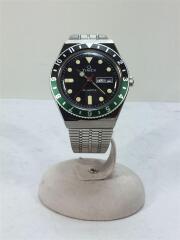 クォーツ腕時計/アナログ/ステンレス/BLK/SLV/tw2u60900/タイメックス