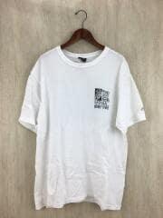 20ss/KNIGHT TEE WHITE/Tシャツ/L/コットン/WHT/ステューシー