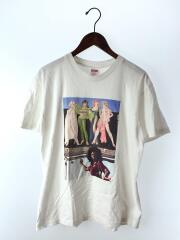 American Picture Tee/19FW/Tシャツ/M/コットン/WHT/シュプリーム