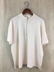 ビックシルエットハーフジップシャツ/WEB限定/S/ポリエステル/M-18222/ミスターオリーブ