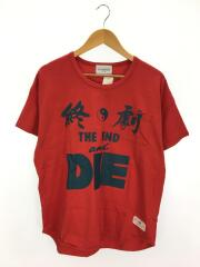 19SS/The END Pocket Tee/終劇/M/コットン/RED/19SS-TS01/ブラックウィドー