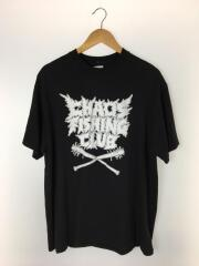 CHAOS FISHING CLUB/Tシャツ/XL/コットン/BLK
