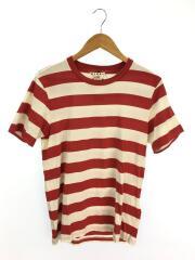 20ss/Tシャツ/46/コットン/RED/ボーダー/マルニ
