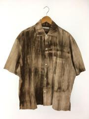 Tie Dyeビックシルエットシャツ/半袖シャツ/M/コットン/マルチカラー