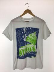 滑稽議事堂 TEE/Tシャツ/M/コットン/WHT/プリント/サスクワッチファブリックス