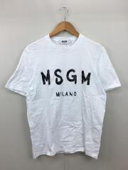 Tシャツ/--/コットン/WHT/プリント/エムエスジーエム