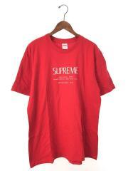 20SS/Anno Domini Tee/Tシャツ/L/コットン/RED/シュプリーム