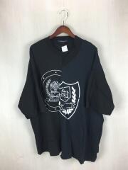 19SS/Tシャツ/1/コットン/BLK/総柄/19SS-CS05/オールモストブラック