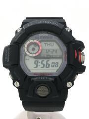 G-SHOCK/ソーラー腕時計/デジタル/ラバー/BLK/BLK/GW-9400J/カシオ