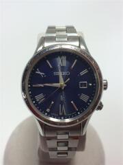Eternal Blue Limited Edition/ソーラー腕時計/アナログ/チタン/NVY/SLV