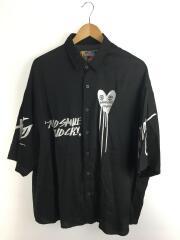 GRAPHISTE MAN.G /半袖シャツ/FREE/レーヨン/BLK
