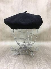 BASQUE BERET/ベレー帽/FREE/ウール/BLK/アナトミカ