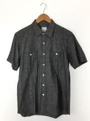 UEN PHYSICAL FITNESS CHAMBRAY WORK SHIRT/2/コットン/GRY