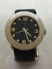 MBM1154/エイミー/ゴールド/クォーツ/腕時計/アナログ/レザー/MARCBYMARCJACOBS