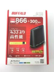 無線LANルーター(Wi-Fiルーター) AirStation WCR-1166DS ワイファイ ブラック