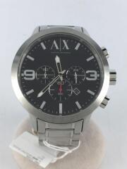 クロノグラフ/AX1272/クォーツ腕時計/アナログ/ステンレス/シルバー