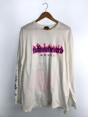 shei shei co.ltd/シェイシェイシーオエルティディ/長袖Tシャツ/XXL/コットン/WHT/ホワイト