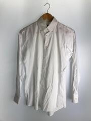 長袖シャツ/38/コットン/WHT/ホワイト/D1L09-807-01/ボタンダウンシャツ
