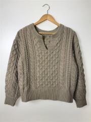 セーター(厚手)/FREE/アクリル/BEG/ベージュ/LF619091TS/19年モデル