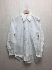 長袖シャツ/SS/コットン/WHT/AD2006