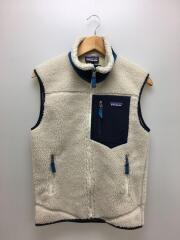 18AW/Classic Retro-X Vest/フリースベスト/XS/ポリエステル/BEG