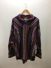 String Shirt/長袖シャツ/M/コットン/マルチカラー