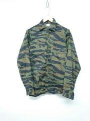 1980s/UtilityShirt/size13 1/20/カモ柄/シャツ/コットン/GRN