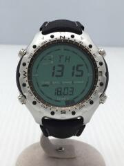 Yachtsman/腕時計/デジタル/BLU/BLK/SS010933310
