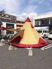 Piltz15-Ⅱ テント/ワンポール/8人以上/RED