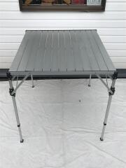 170-7524/アルミロールトップテーブル テーブル/SLV