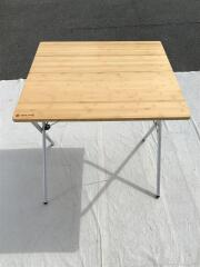 LV-010T テーブル ワンアクションテーブル竹 LV-010T/BEG