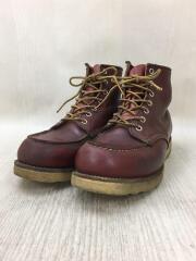 CLASSIC WORK 6/Moc toeBoots/8875/US8.5/BRW/レザー