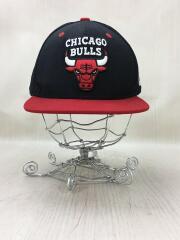 キャップ/FREE/キャンバス/BLK/無地/chicago bulls/シカゴブルズ