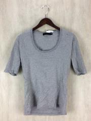 リチウムオム/Tシャツ/48/コットン/GRY