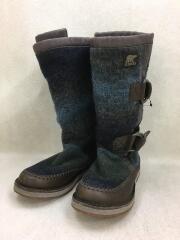 CHIPAHKO BLANKET/ブーツ/23.5cm/マルチカラー/ウール/スノーブーツ/ソレル
