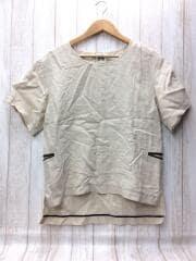 Tシャツ/2/リネン/BEG