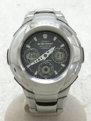 カシオ/ソーラー腕時計・G-SHOCK/デジアナ/ステンレス/SLV/SLV