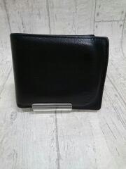 2つ折り財布/--/BLK/無地/メンズ