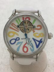 自動巻き式腕時計/腕時計/アナログ/ベルトレザー