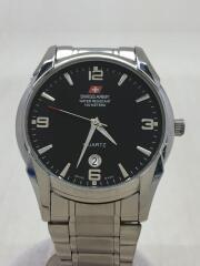 クォーツ腕時計/アナログ/ラバー/SLV/SLV