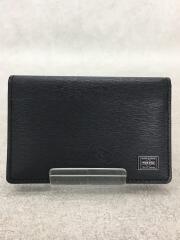 PORTER /カードケース/BLK/レザー/052-02207
