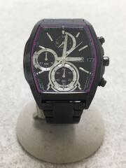 ワイアード/クォーツ腕時計/デジタル/BLK/R33-0AB0