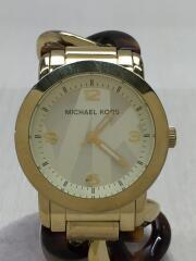 マイケルコース/クォーツ腕時計/アナログ/GLD/GLD/MK-4266