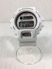 カシオ/クォーツ腕時計/アナログ/ナイロン/WHT/WHT/DW-6697