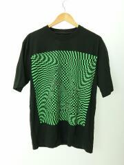19AW/MASH EYE T-SHIRT/Tシャツ/L/コットン/BLK