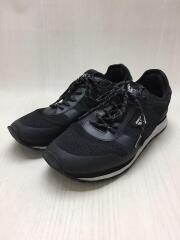 靴底スレ有/靴底ハガレ有/ローカットスニーカー/42/BLK/ポリエステル