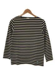 バスクシャツ/長袖Tシャツ/2/コットン/NVY/ボーダー