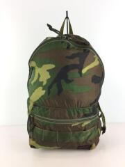 PACKABLE DAYPACK/リュック/ナイロン/GRN/カモフラ/BRF265219-160