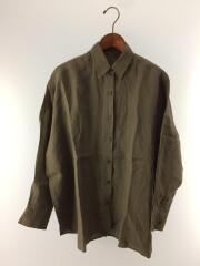 WIDE LINENシャツ/2020MODEL/リネン/KHK/20-050-500-7020-1-0